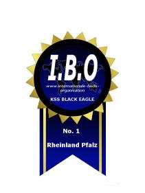Die Kampfsportschule Black Eagle gehört dem I.B.O Verband an